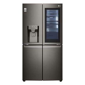 LG 706L Black French Door Fridge Freezer