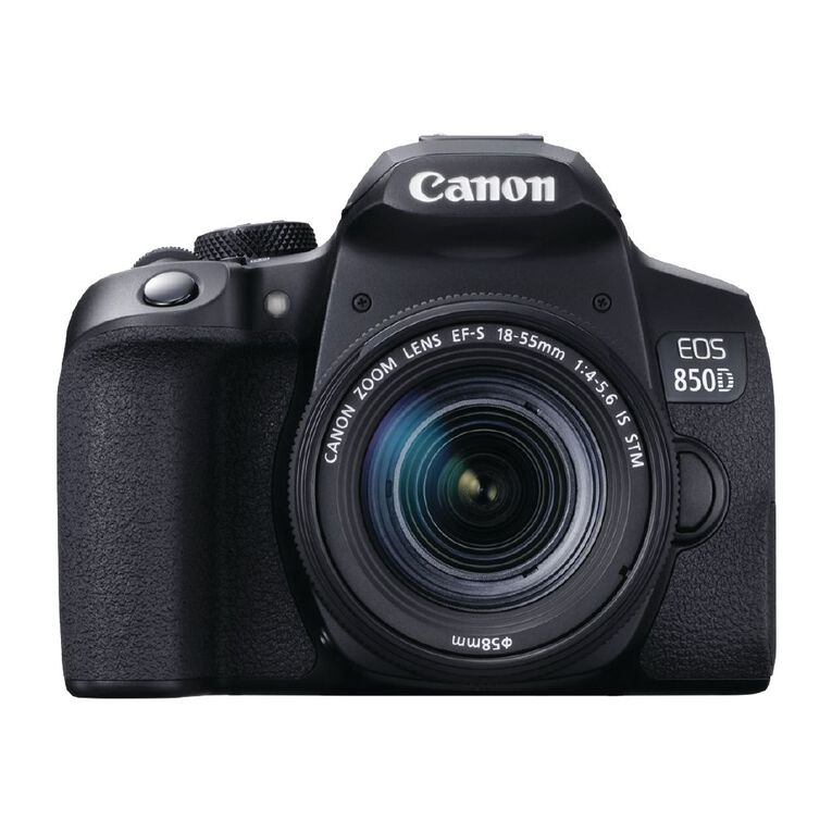 Image of Canon EOS 850D DSLR Camera with 18-55mm Lens