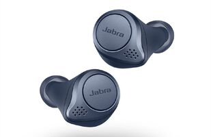 Jabra Elite Active 75t True Wireless Noise Cancelling Headphones - Navy