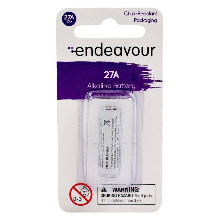 Endeavour 27A 12v Alkaline Battery, , hi-res