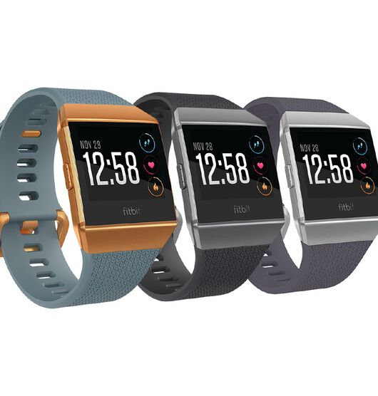 Fitbit Ionic Smart Fitness Watch Blue and Burnt Orange