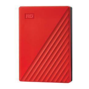 WD My Passport 4TB USB 3.0 External HDD - Red