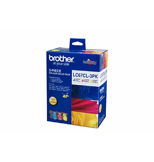 Brother LC67CL Tri-Colour Value Pack