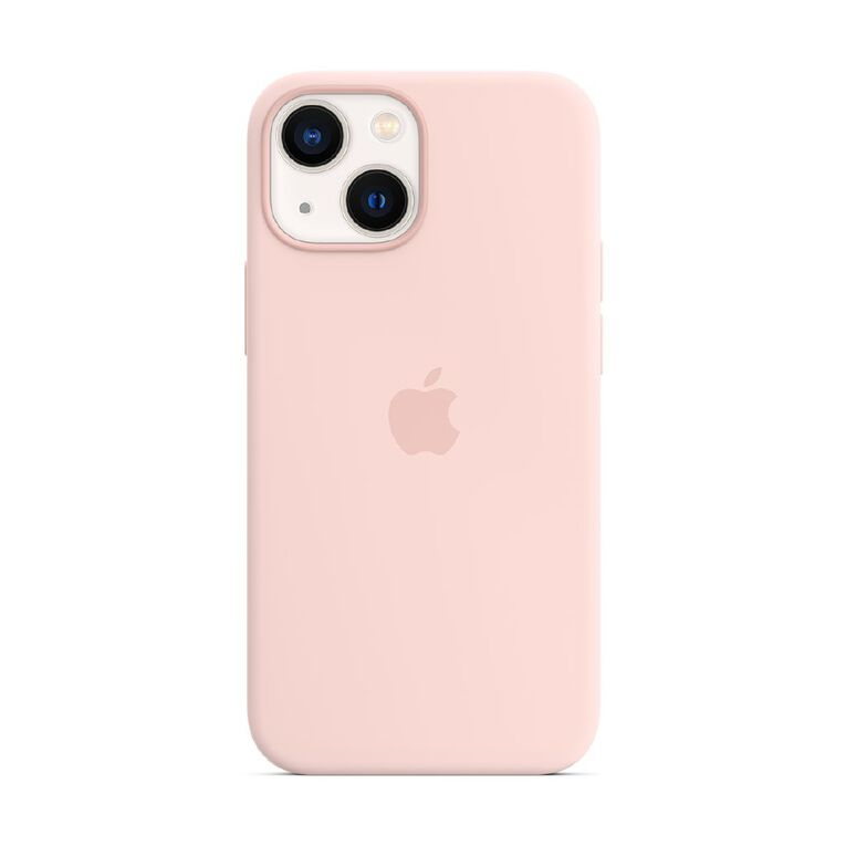 Apple iPhone 13 mini Silicone Case with MagSafe - Chalk Pink, , hi-res