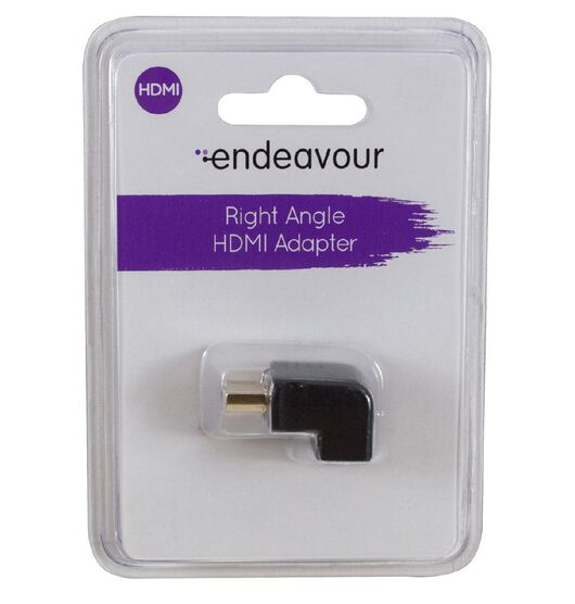 Endeavour Right Angle HDMI Adapter
