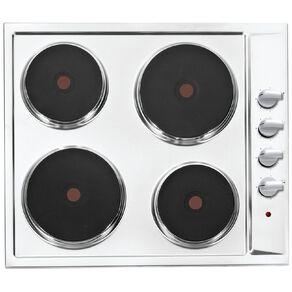 Eurotech 60cm 4 Element Hotplate Cooktop