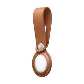 Apple AirTag Leather Loop Brown