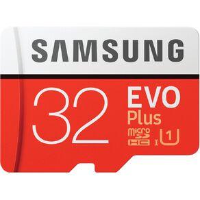 Samsung EVO Plus microSDXC Card (SD Adapter) - 32GB