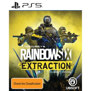 PlayStation 5 Rainbow Six Extraction