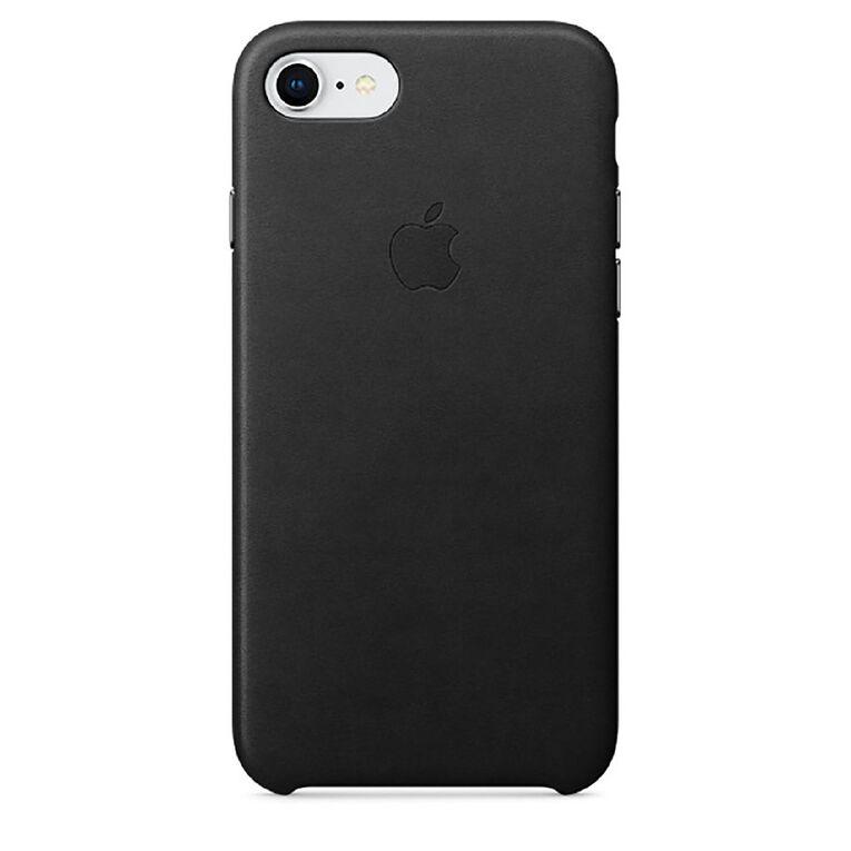 Apple iPhone 7/8 Leather Case - Black, , hi-res