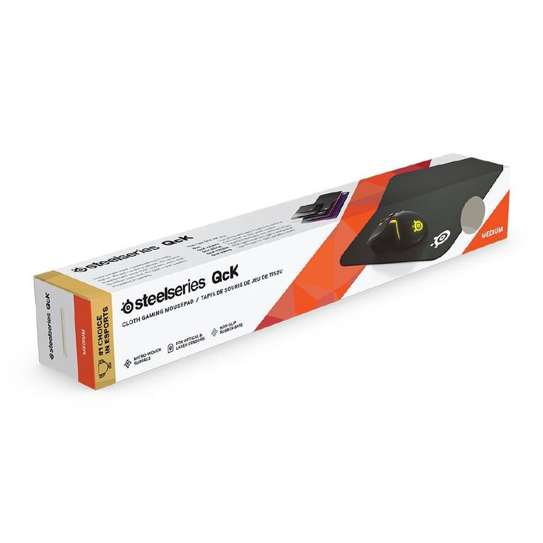 Steelseries QcK Medium Gaming Mouse Pad, , hi-res