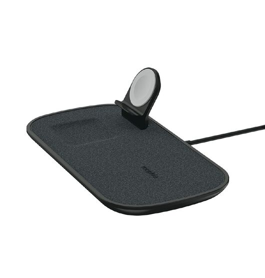 Mophie 3-in-1 Wireless Charging Pad - Black Fabric