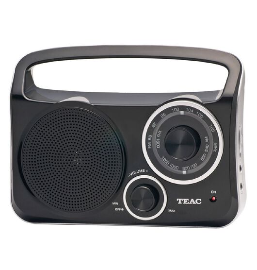 Teac AM/FM Portable Radio with Aux Input
