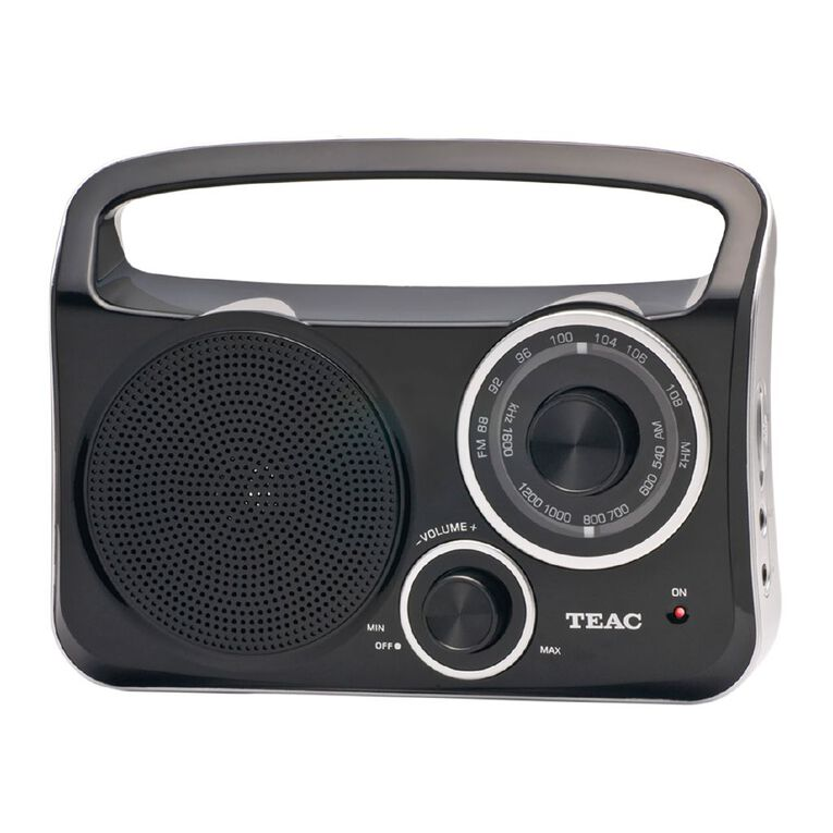 Teac AM/FM Portable Radio with Aux Input, , hi-res