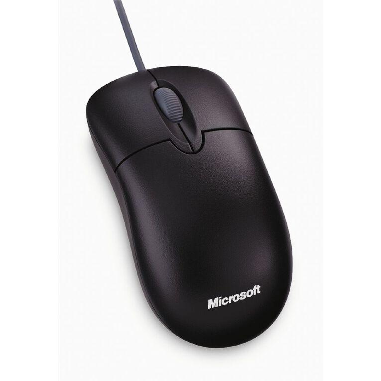 Microsoft Basic Optical Wired Mouse Black, , hi-res