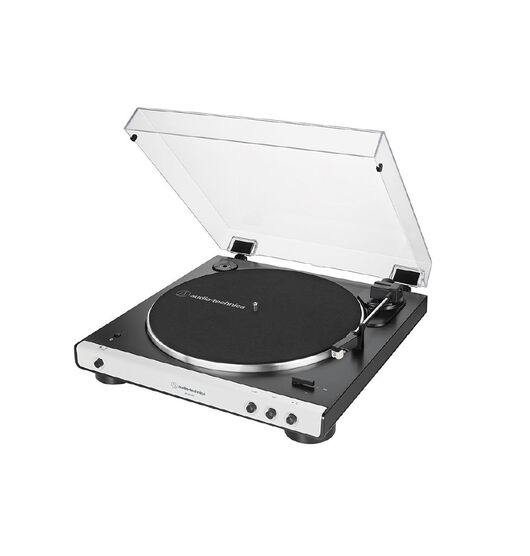 Audio Technica Auto Belt-Drive Stero Turntable with Bluetooth - White