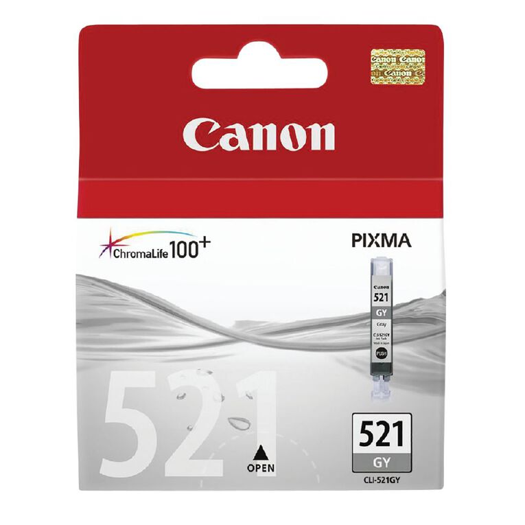 Canon CLI521GY Ink - Grey, , hi-res