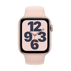 Apple Watch SE 44mm GPS Gold Aluminium Case with Pink Sand Sport Band