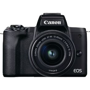 Canon EOS M50 Mark II Mirrorless Camera with 15-45mm Lens