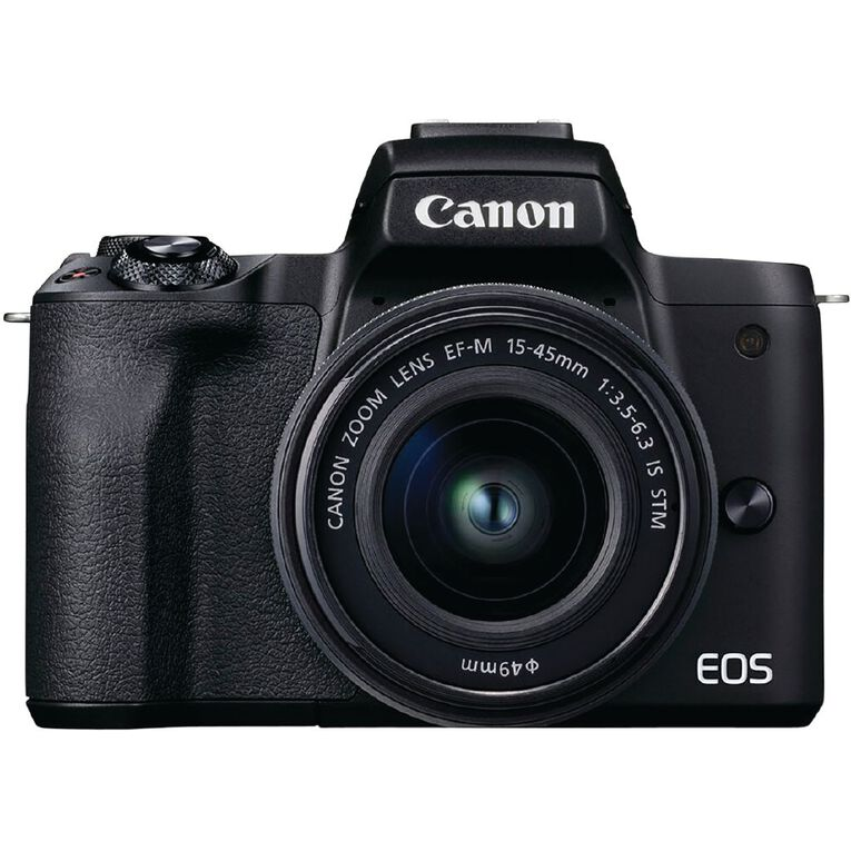 Image of Canon EOS M50 Mark II Mirrorless Camera with 15-45mm Lens