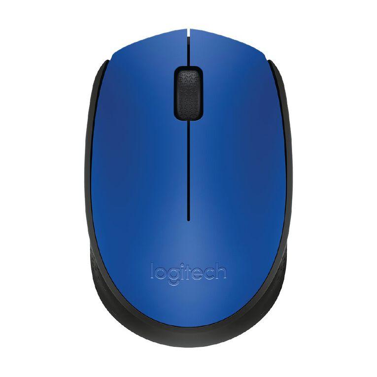 Logitech Wireless Mouse M171 Blue, , hi-res