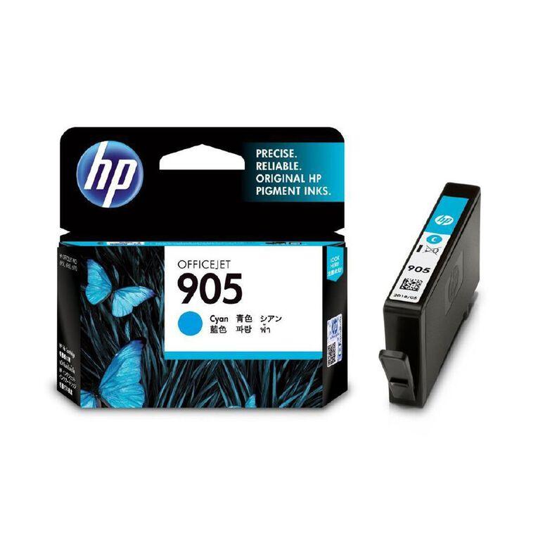 HP 905 Ink - Cyan, , hi-res