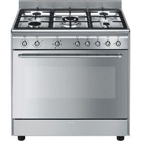 SMEG 90cm Gas/Electric Freestanding Oven