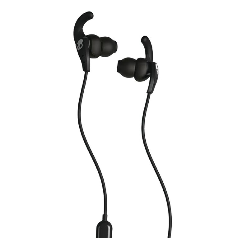 Skullcandy SET In Ear Sports Headphones - Black/Black/White, , hi-res