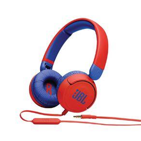 JBL JR310 Kids on-ear wired Headphones Red
