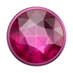 Popsockets PopGrip Premium Disco Crystal Plum Berry