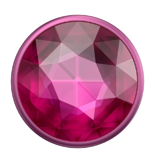 Popsockets PopGrip Premium Disco Crystal Plum Berry
