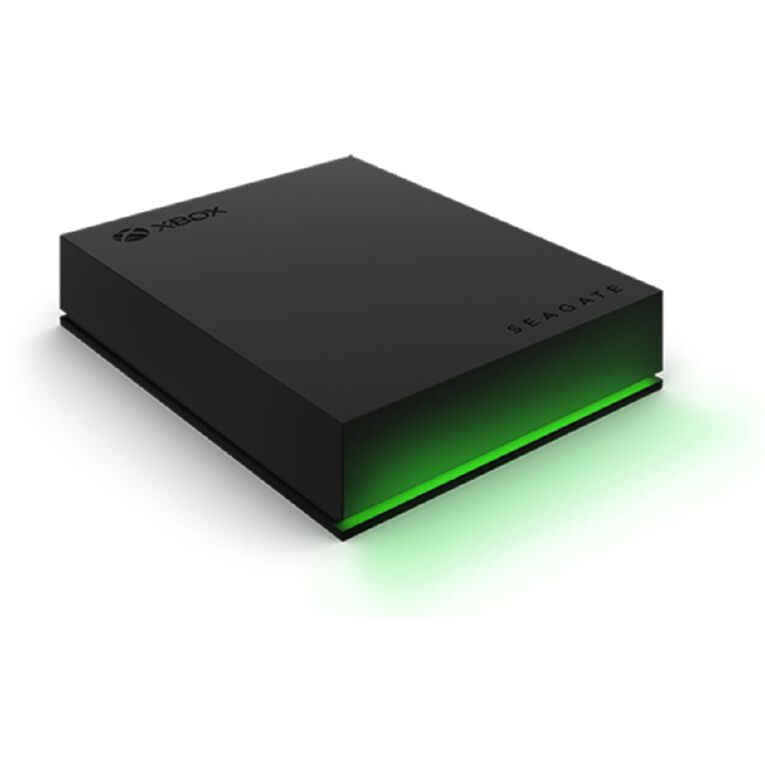 Seagate 4TB Xbox Game Drive Portable Harddrive - Black, , hi-res