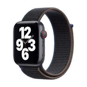 Apple Watch SE CEL, 44mm SG Alum Case w Charcoal Sport Loop