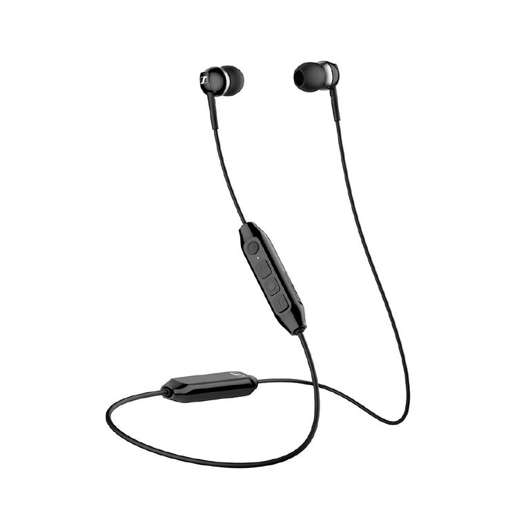 Sennheiser CX 350BT Wireless In-Ear  Headphones with Mic - Black, , hi-res