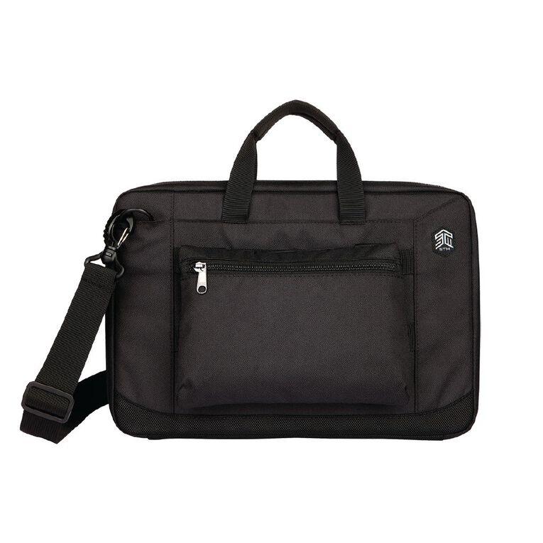"""STM Ace Always-On Cargo 11""""-12"""" Laptop Bag - Black, , hi-res"""