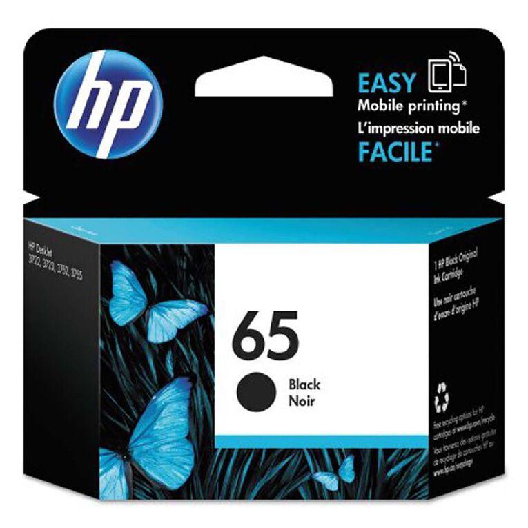 HP 65 Ink - Black, , hi-res