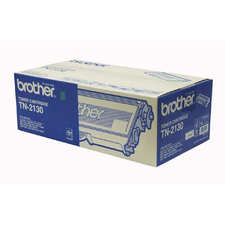 Brother TN2130 Toner - Black, , hi-res