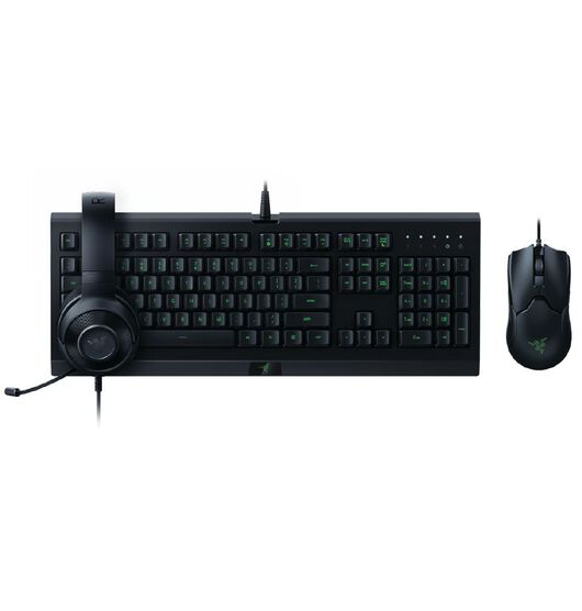 Razer Power Up Gaming Bundle - Cynosa Lite Viper Kraken X LITE