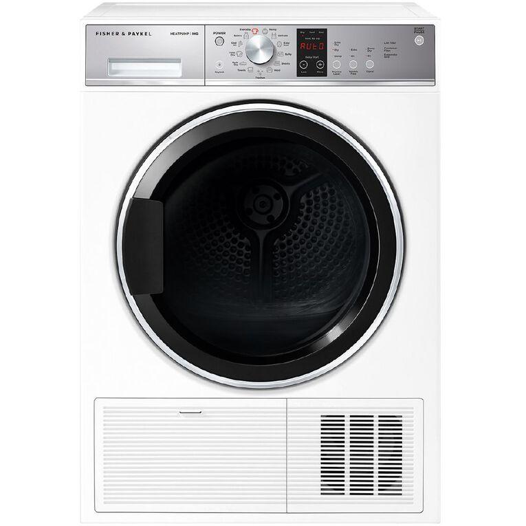 Fisher & Paykel 9kg Heat Pump Dryer, , hi-res