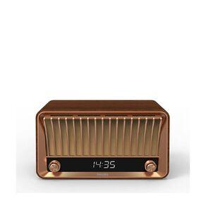 Philips Vintage Bluetooth Speaker With Clock & Radio