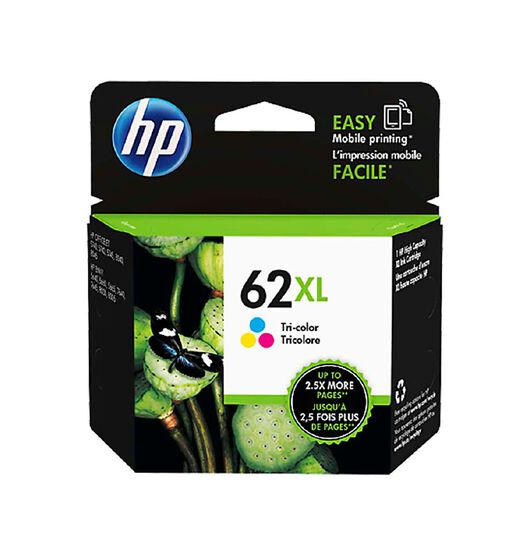 HP NO.62XL Tri-Colour Ink Cartridge