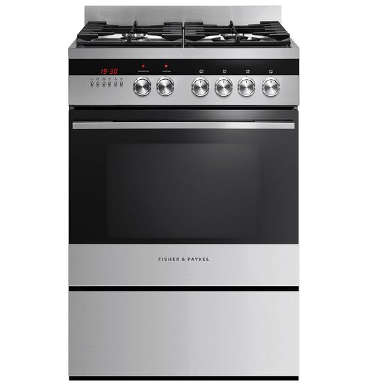 Fisher & Paykel 60cm Gas/Electric Freestanding Oven