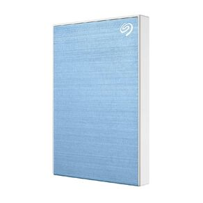 Seagate 1TB One Touch Portable HDD with Rescue - Blue