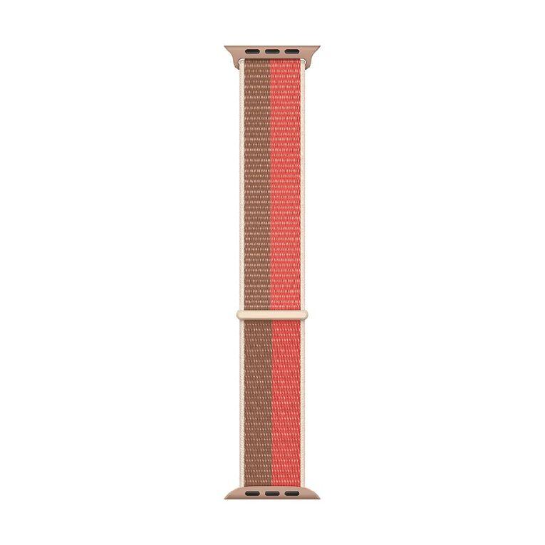 Apple 45mm Pink Pomelo/Tan Sport Loop - Regular, , hi-res