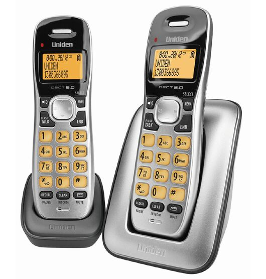 Uniden DECT1715+1 Digital DECT Cordless Twin