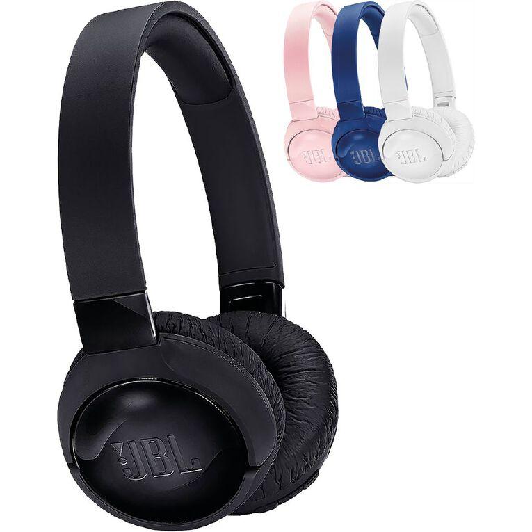 JBL Tune 600 Wireless Noise Cancelling On Ear Headphones - Black, , hi-res