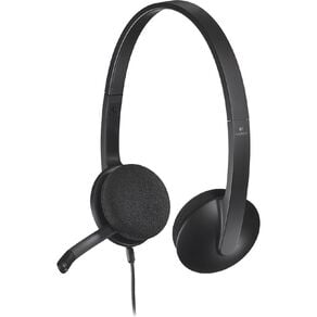 Logitech H340 USB Headset - Black