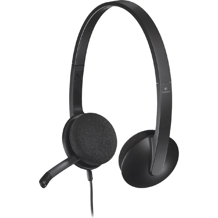 Logitech H340 USB Headset - Black, , hi-res