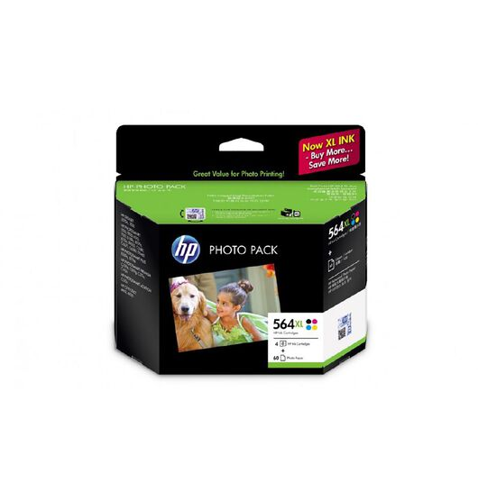 HP Ink HP564XL Photo Value 4 Pack