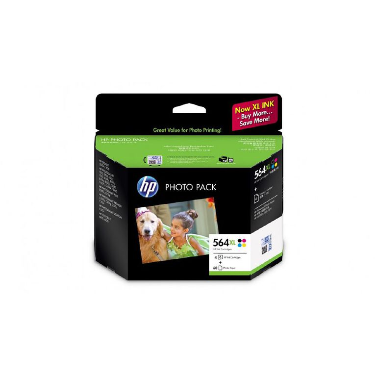 HP Ink HP564XL Photo Value 4 Pack, , hi-res